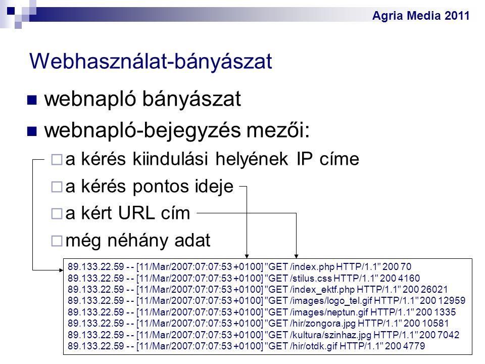 Webhasználat-bányászat