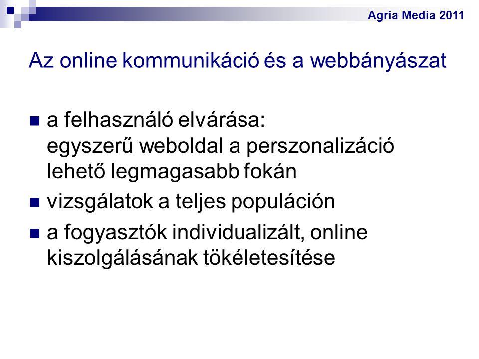 Az online kommunikáció és a webbányászat
