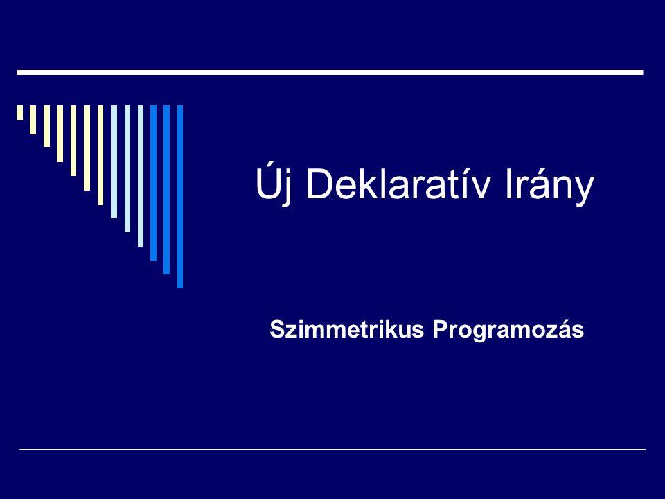 Szimmetrikus Programozás