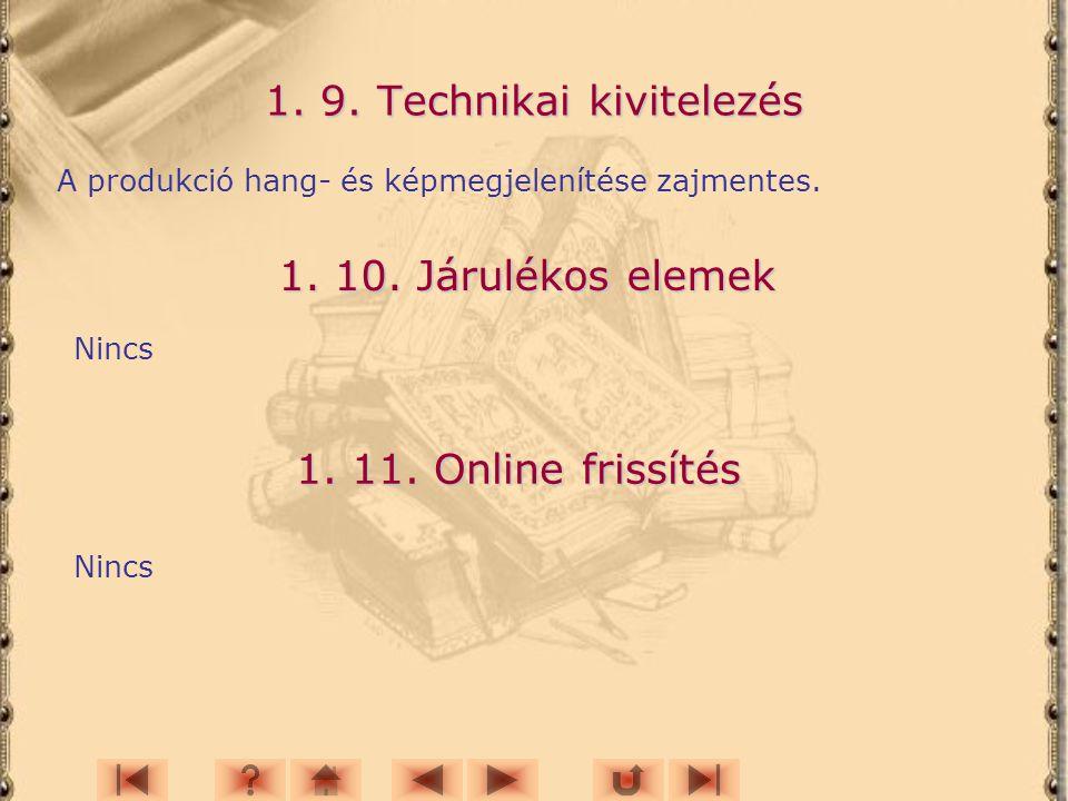 1. 9. Technikai kivitelezés