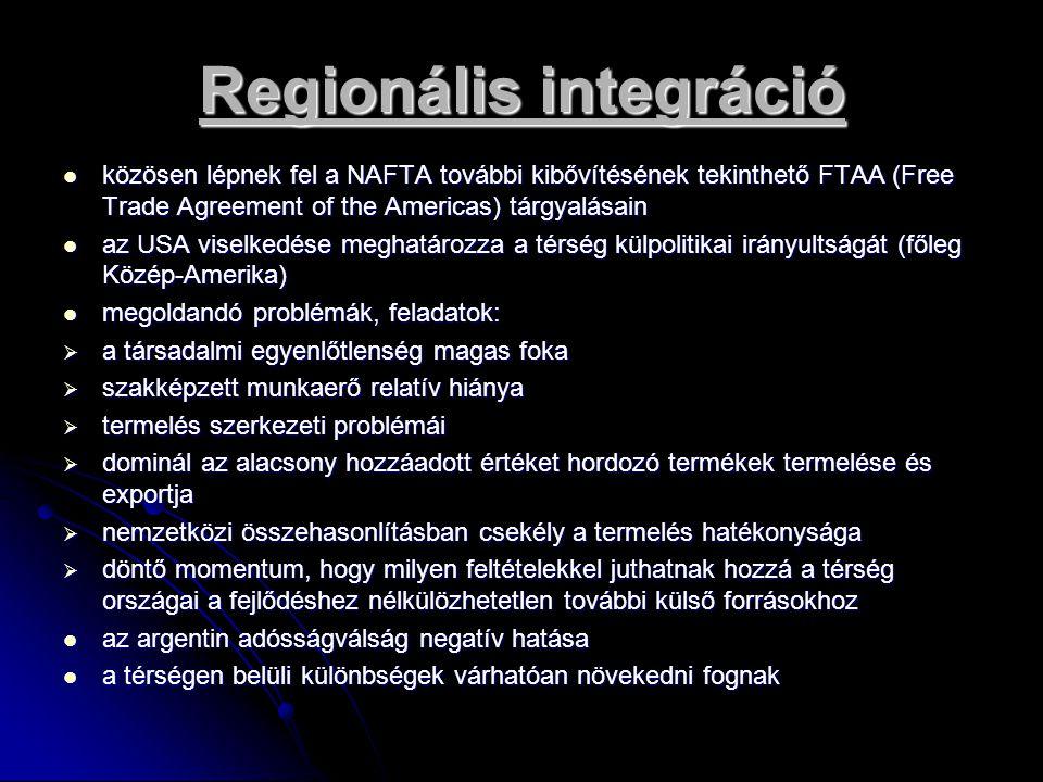 Regionális integráció