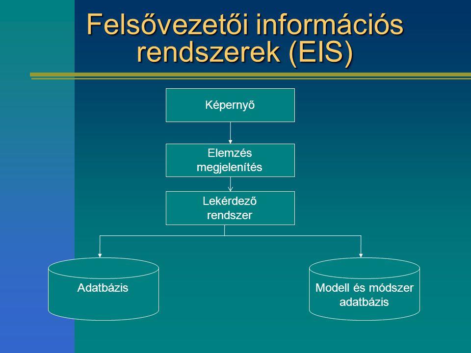 Felsővezetői információs rendszerek (EIS)