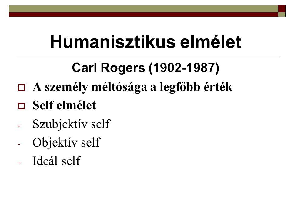 Humanisztikus elmélet
