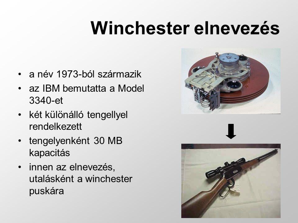 Winchester elnevezés a név 1973-ból származik