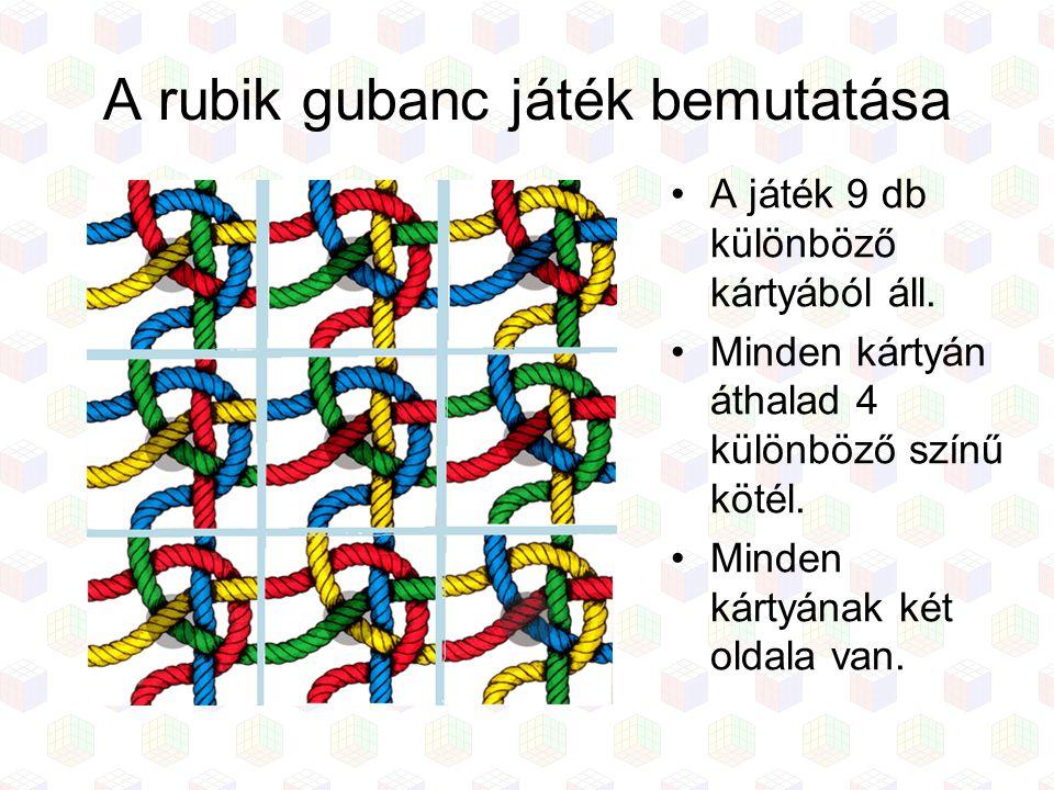 A rubik gubanc játék bemutatása