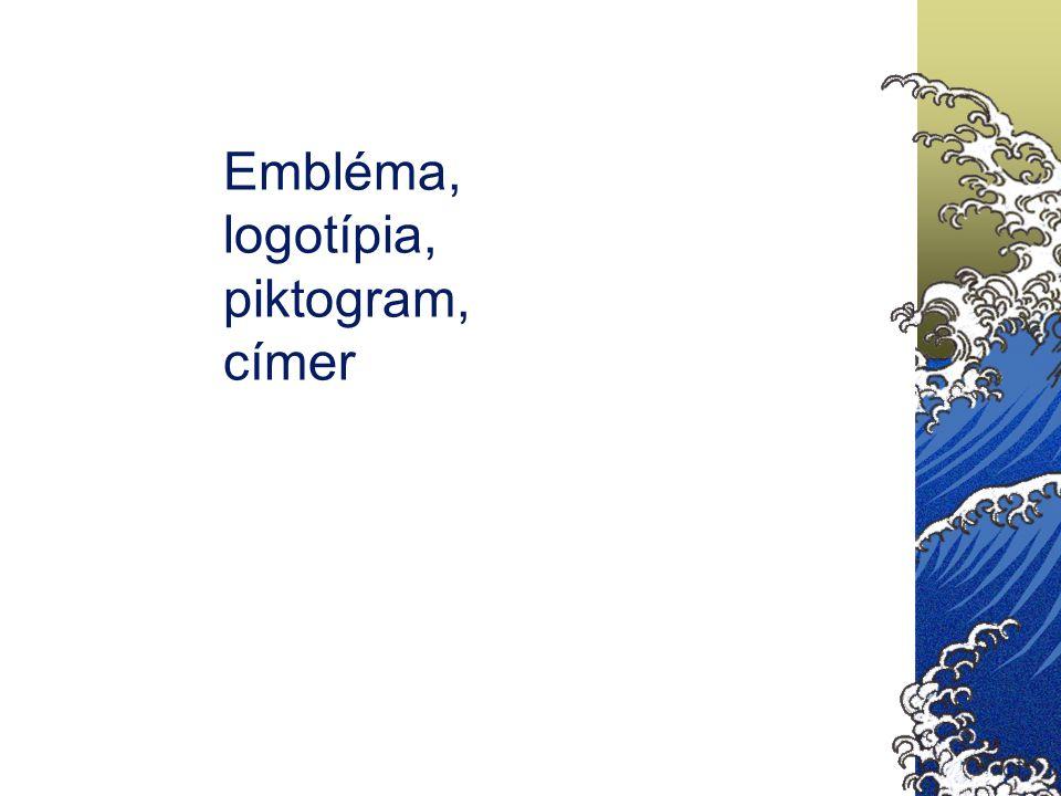 Embléma, logotípia, piktogram, címer