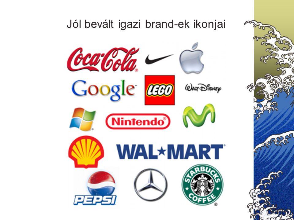 Jól bevált igazi brand-ek ikonjai