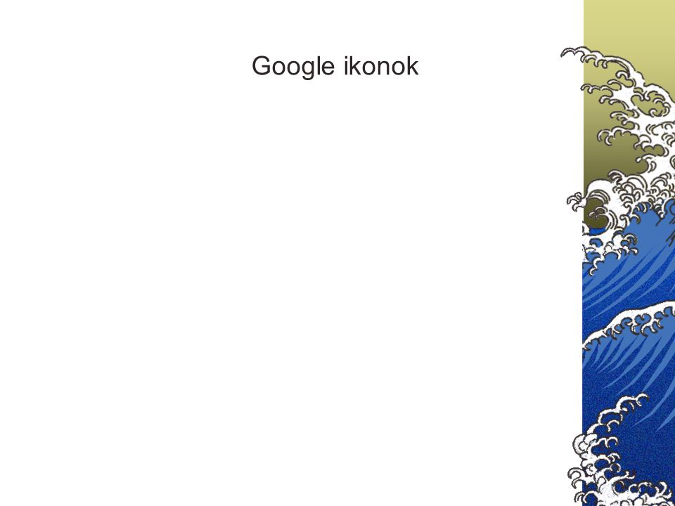 Google ikonok