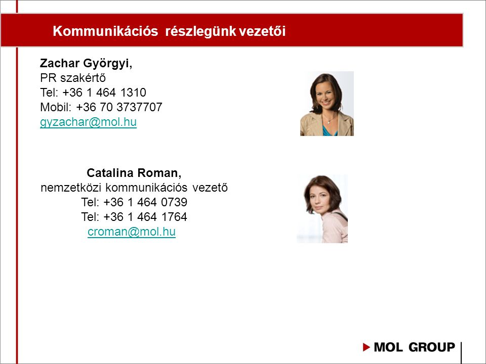 nemzetközi kommunikációs vezető
