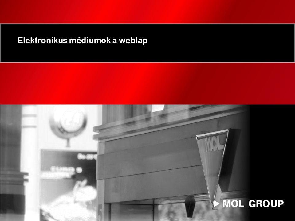 Elektronikus médiumok a weblap