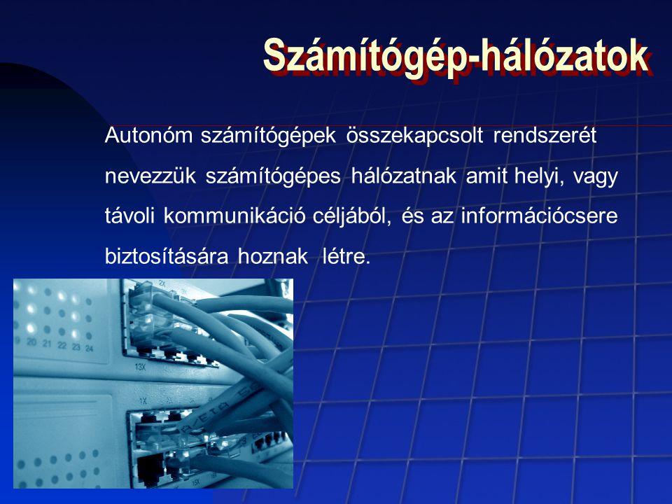Számítógép-hálózatok