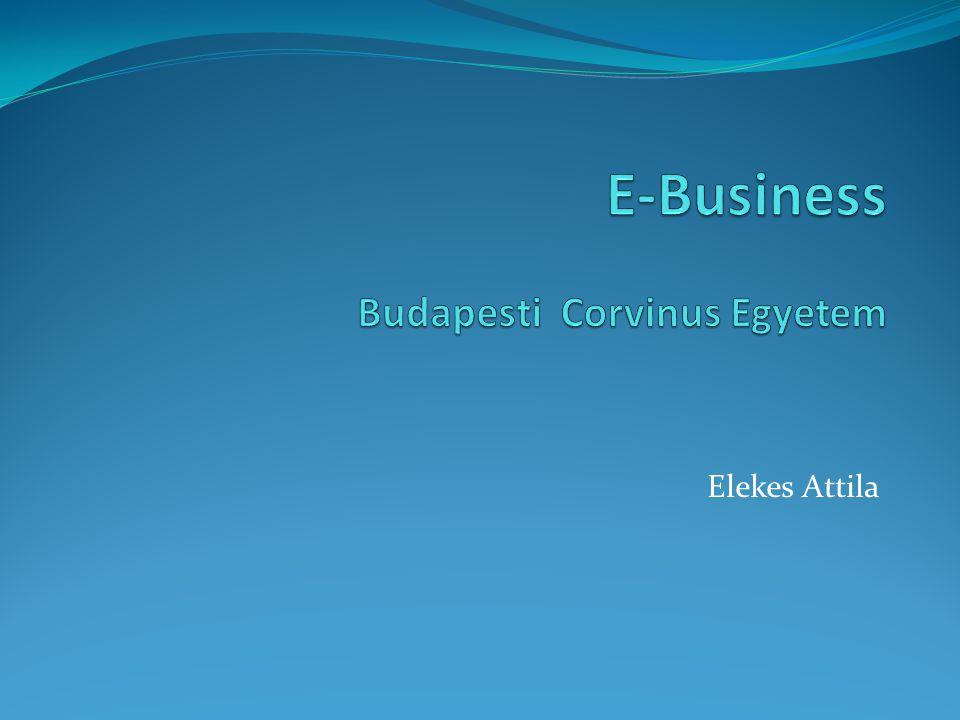 E-Business Budapesti Corvinus Egyetem