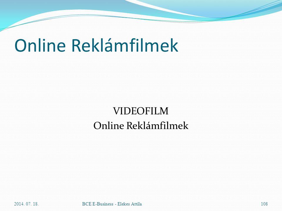 VIDEOFILM Online Reklámfilmek
