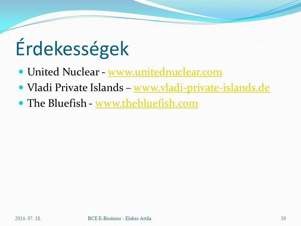 Érdekességek United Nuclear - www.unitednuclear.com