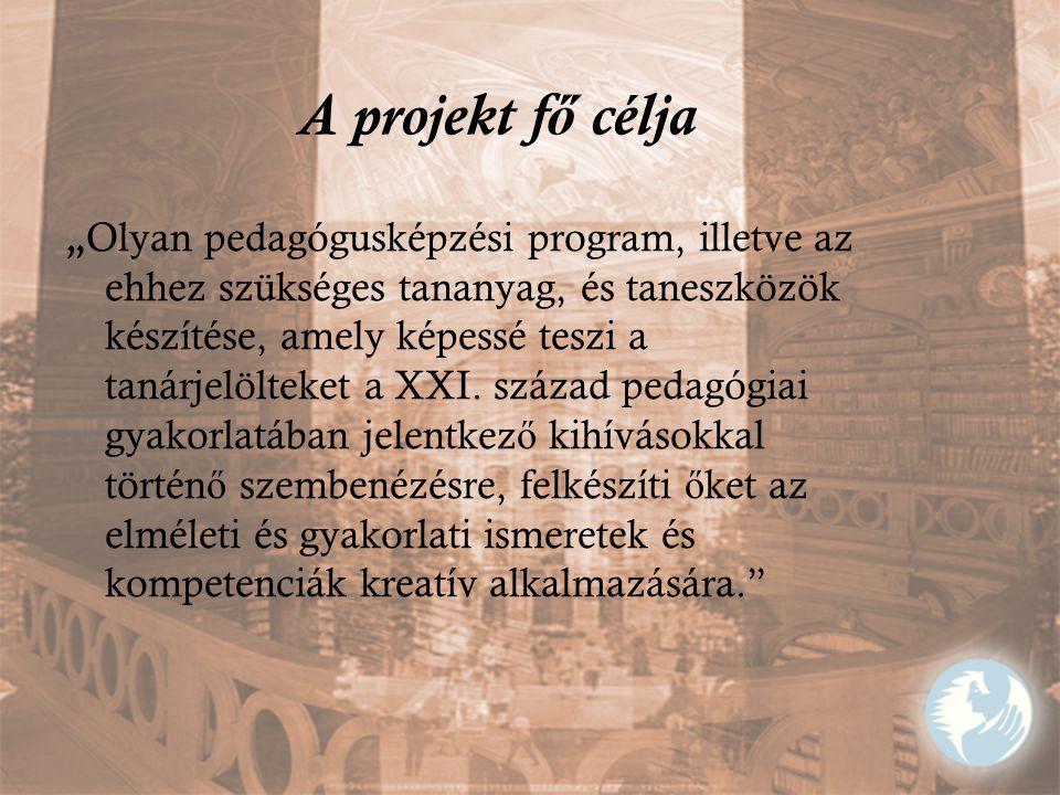 A projekt fő célja