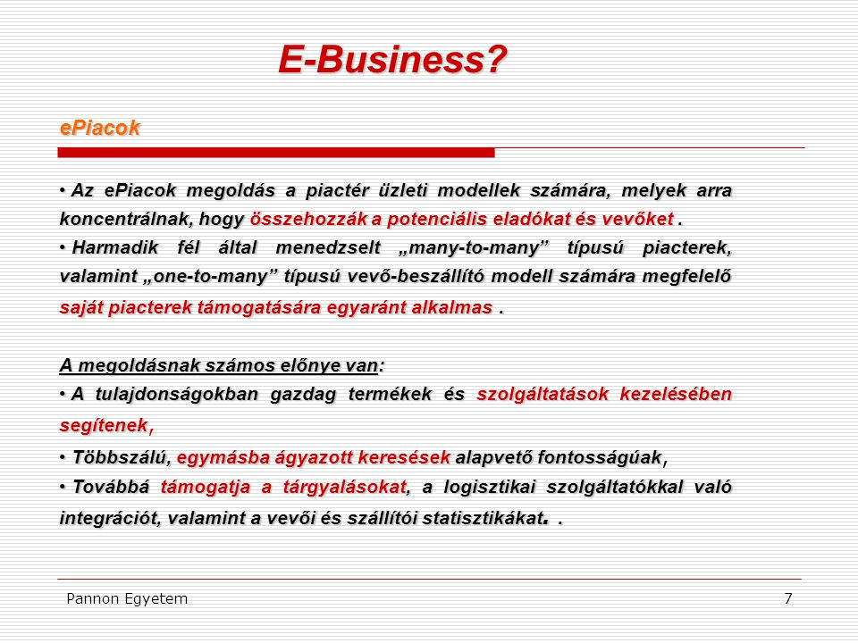 E-Business ePiacok.