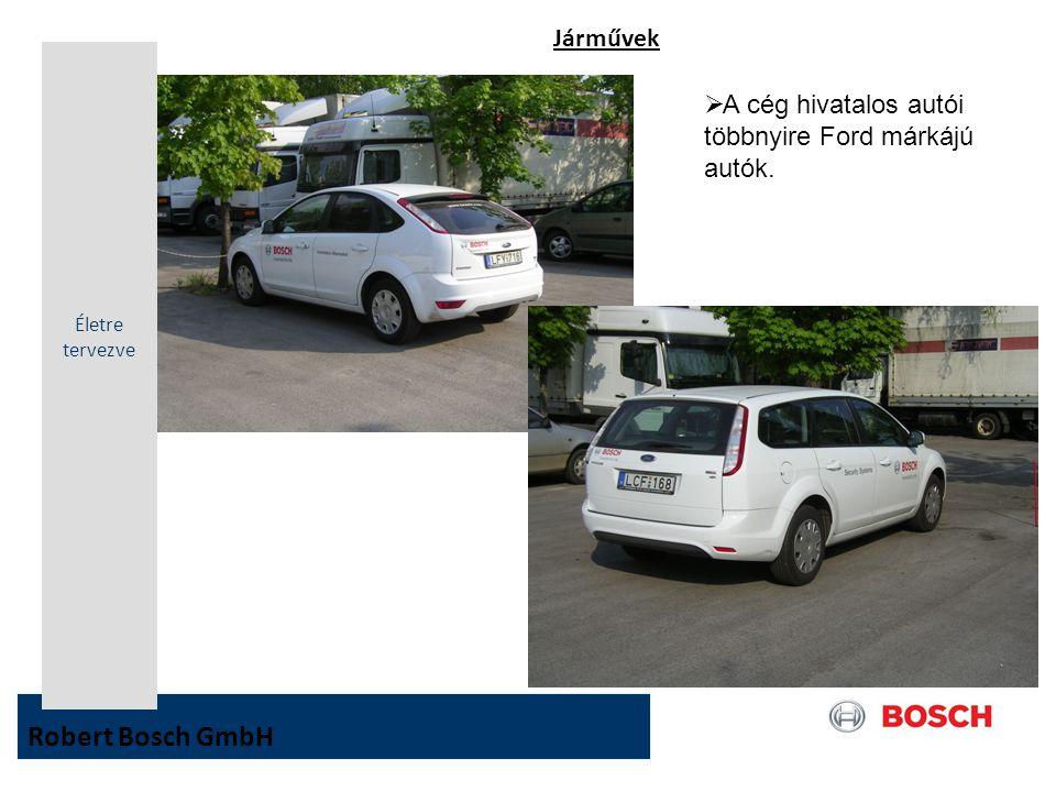 Robert Bosch GmbH Járművek