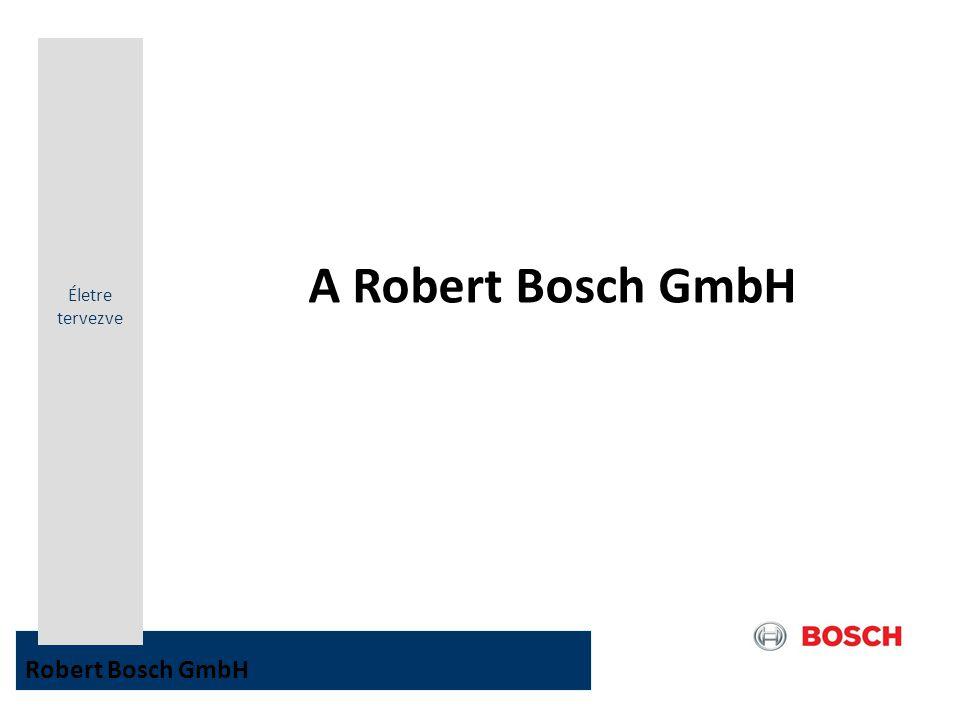 Életre tervezve A Robert Bosch GmbH Robert Bosch GmbH