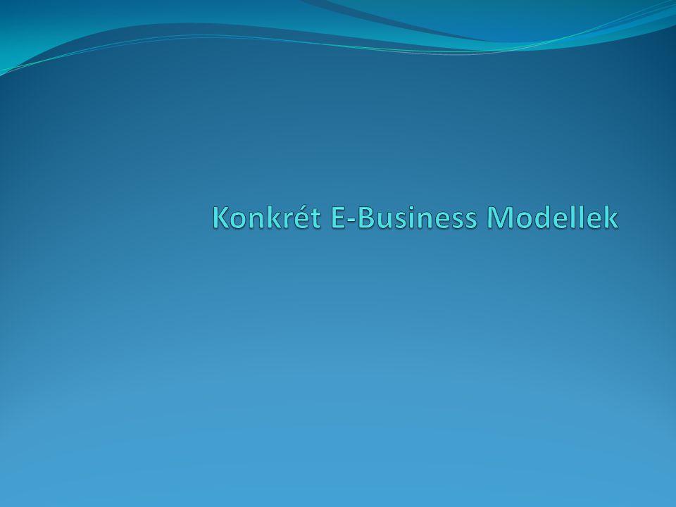 Konkrét E-Business Modellek