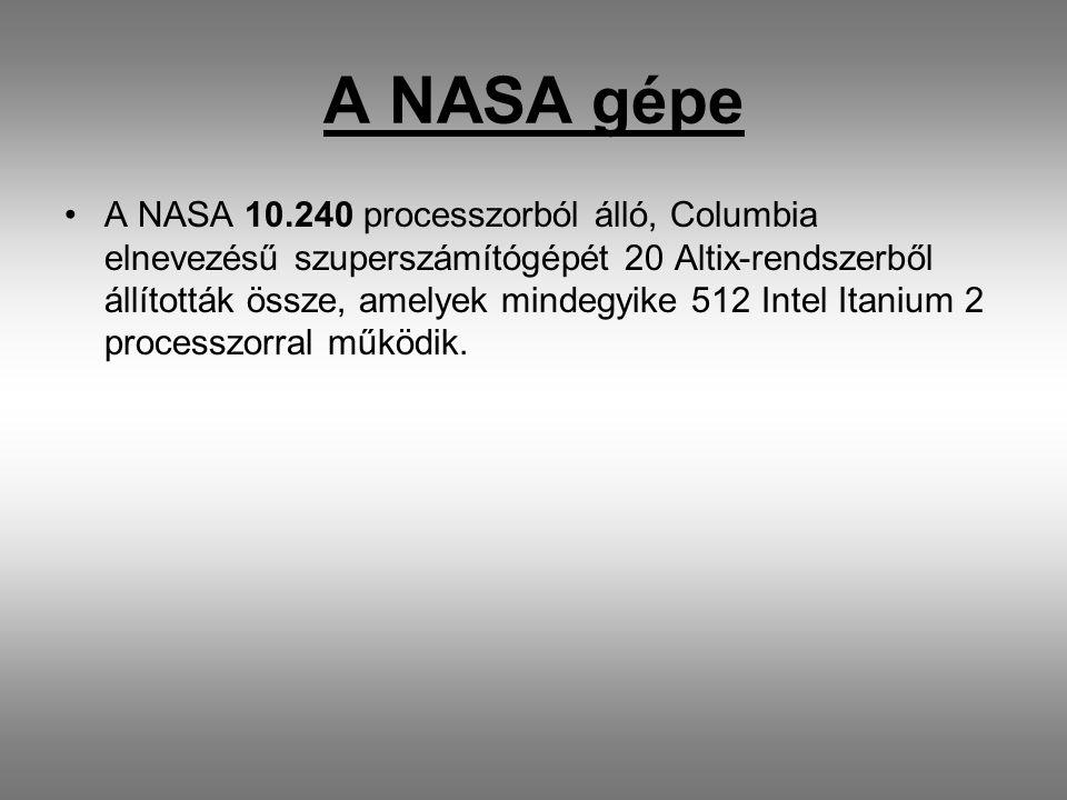 A NASA gépe