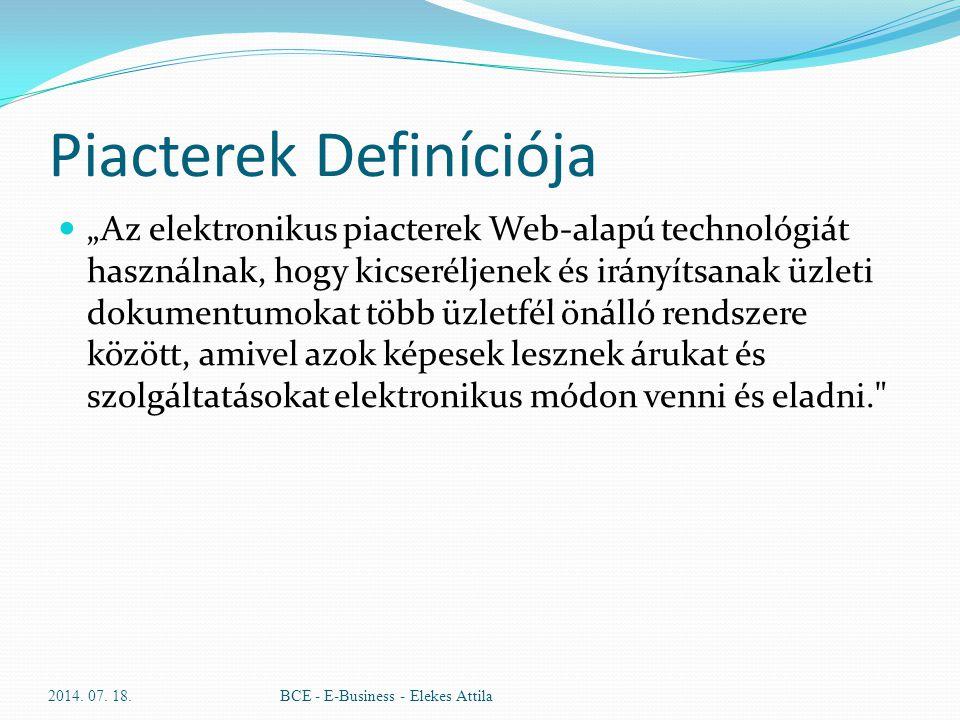 Piacterek Definíciója