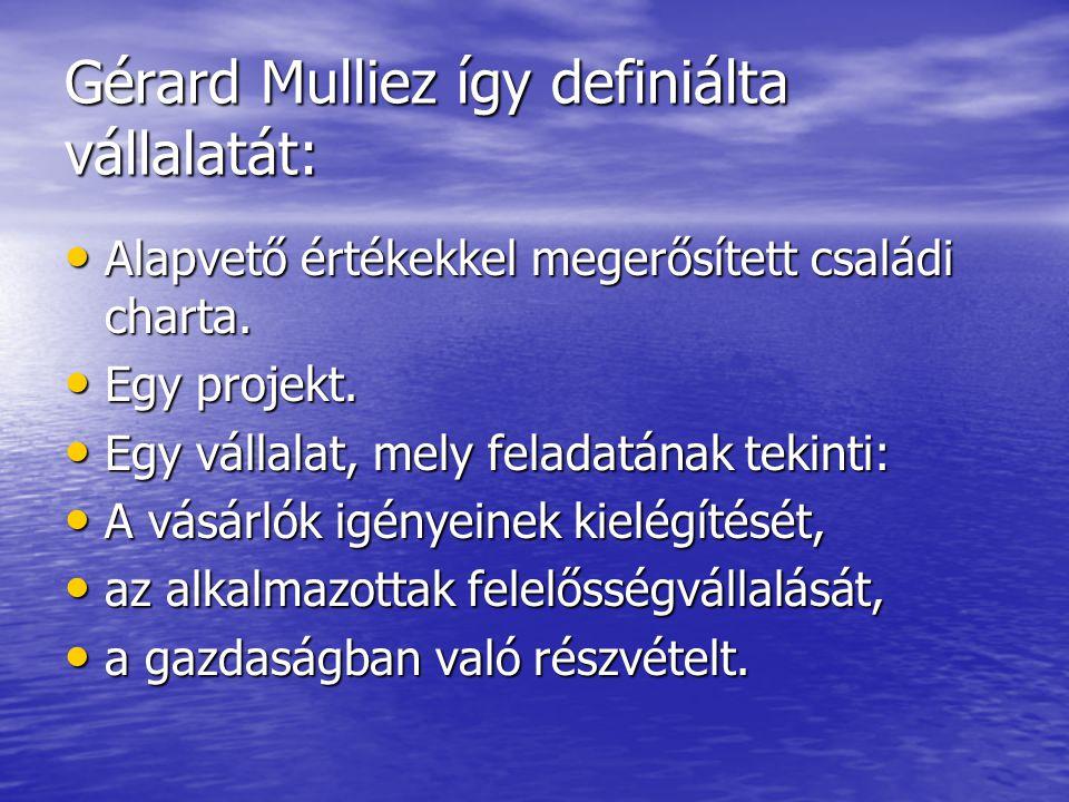Gérard Mulliez így definiálta vállalatát: