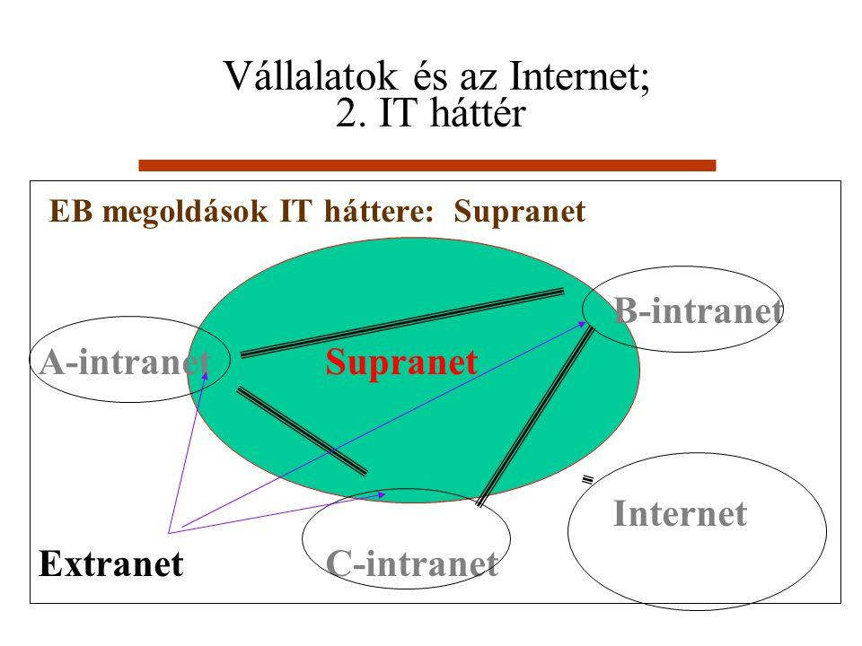 Vállalatok és az Internet; 2. IT háttér