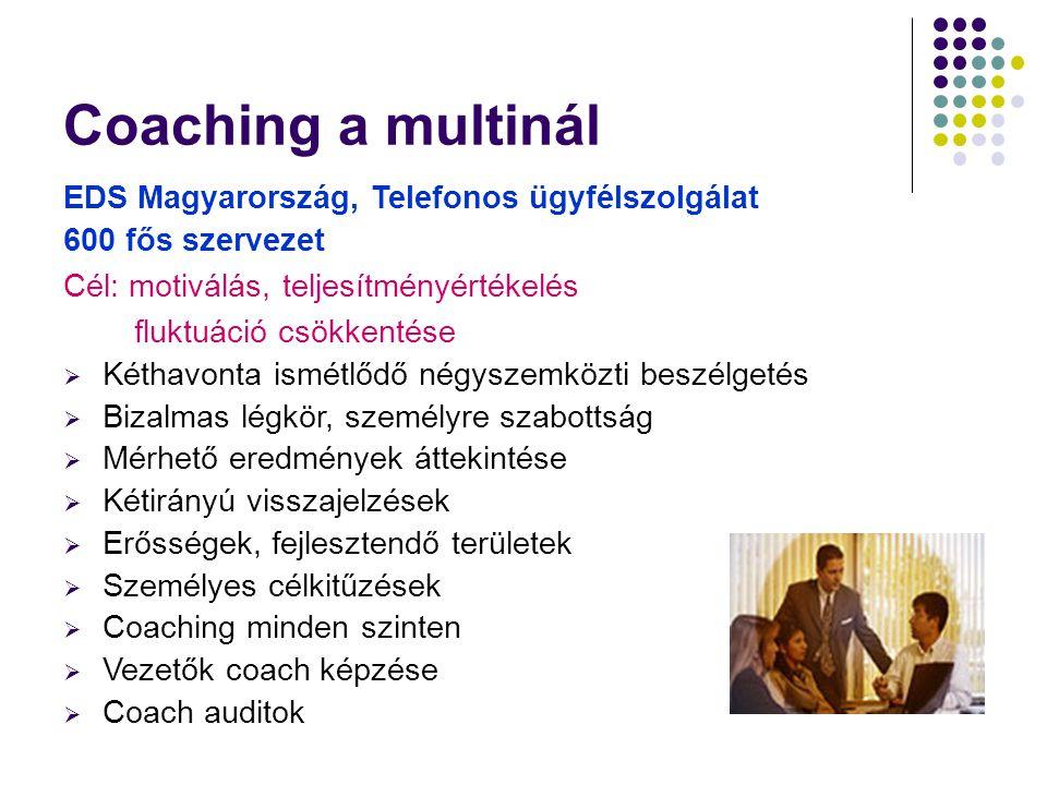 Coaching a multinál EDS Magyarország, Telefonos ügyfélszolgálat