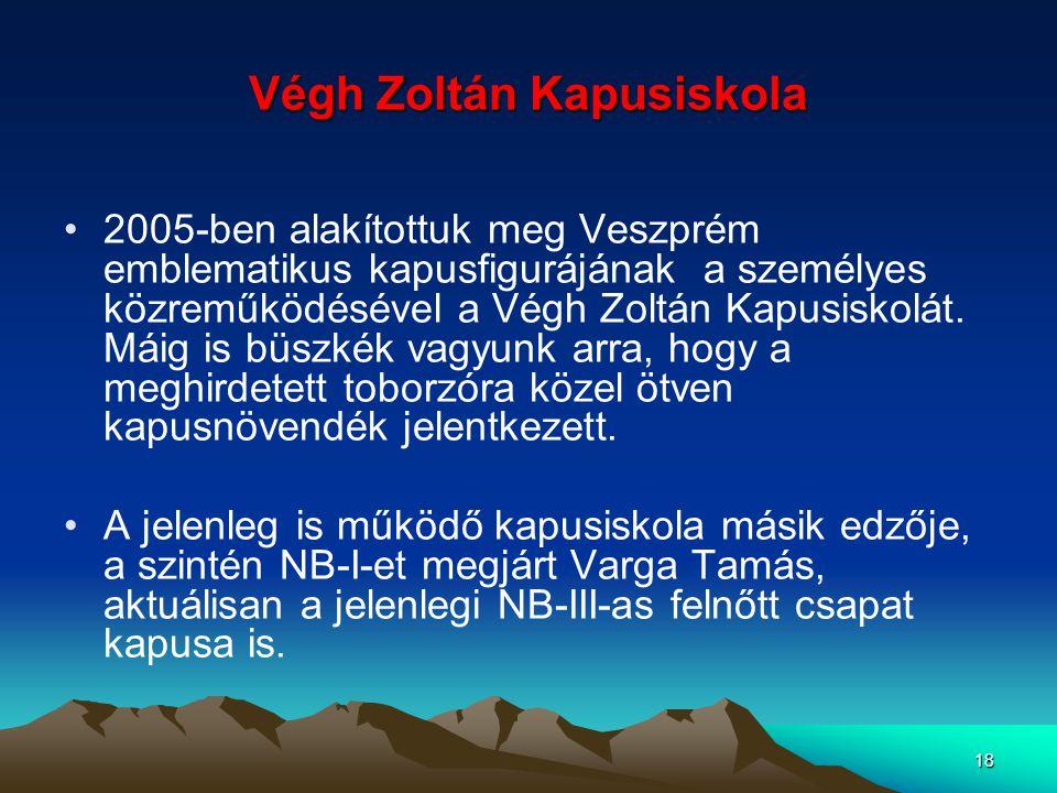 Végh Zoltán Kapusiskola