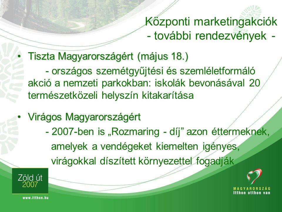 Központi marketingakciók