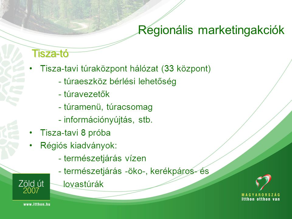 Regionális marketingakciók