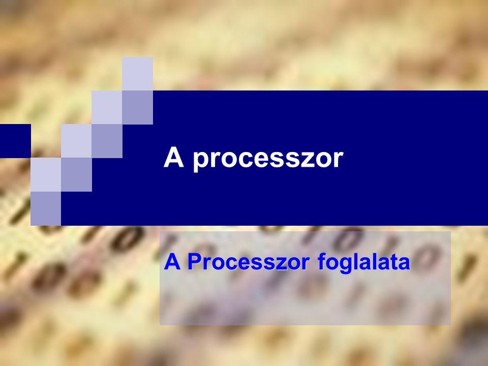 A Processzor foglalata