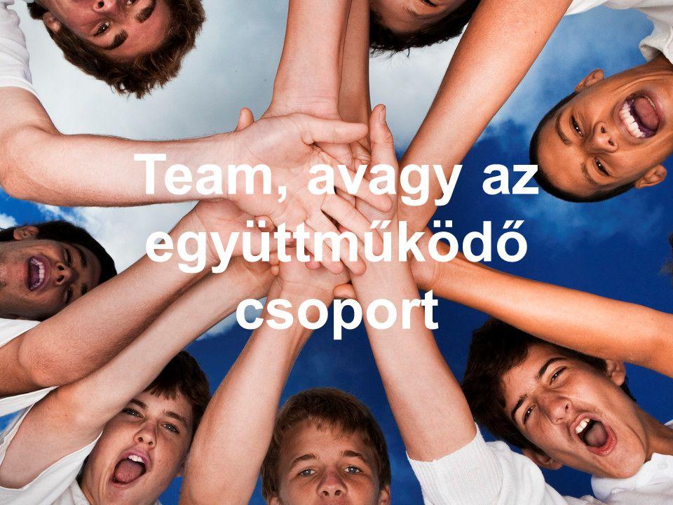 Team, avagy az együttműködő csoport