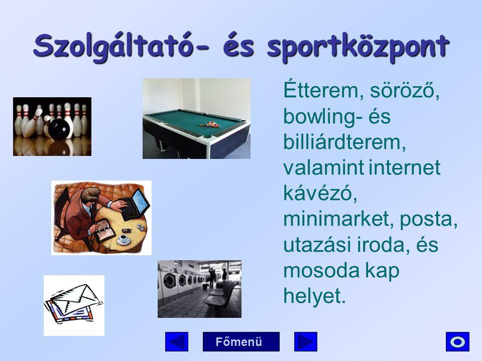 Szolgáltató- és sportközpont