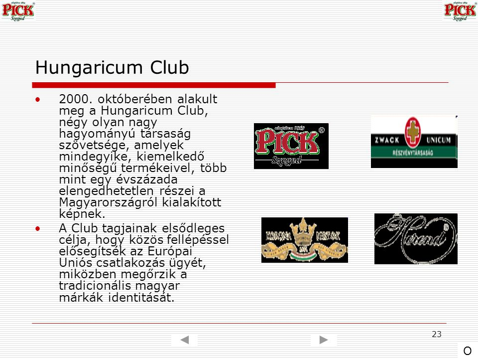 Hungaricum Club