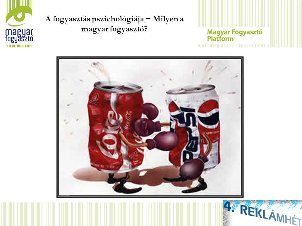 A fogyasztás pszichológiája − Milyen a magyar fogyasztó