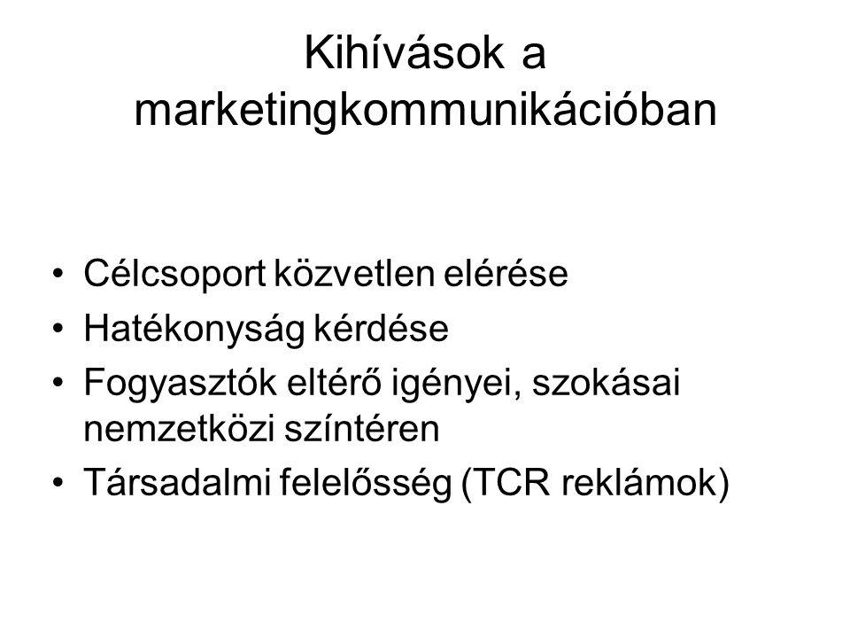 Kihívások a marketingkommunikációban