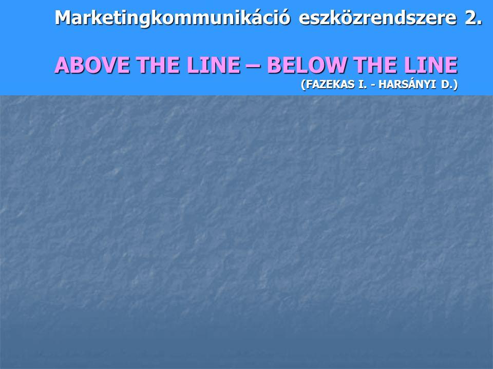 Marketingkommunikáció eszközrendszere 2