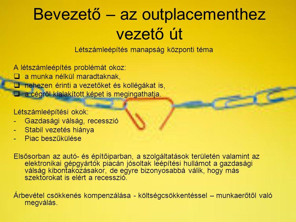 Bevezető – az outplacementhez vezető út