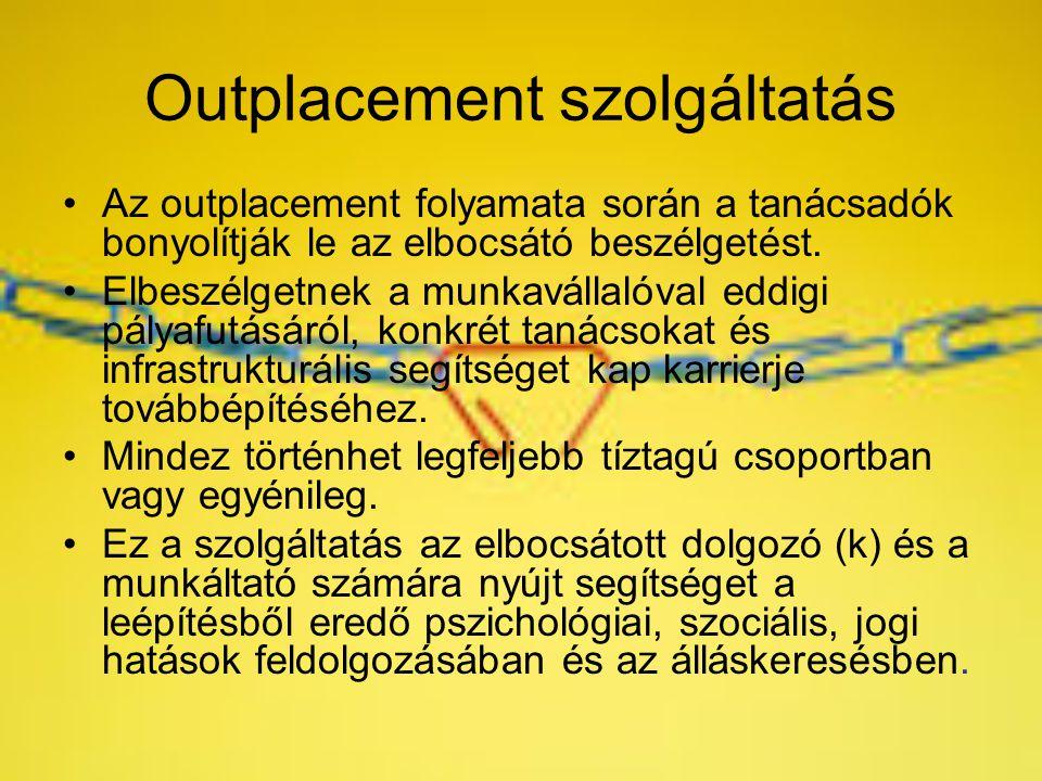 Outplacement szolgáltatás