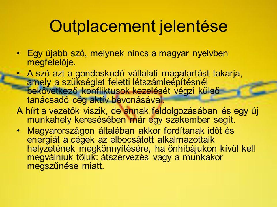 Outplacement jelentése