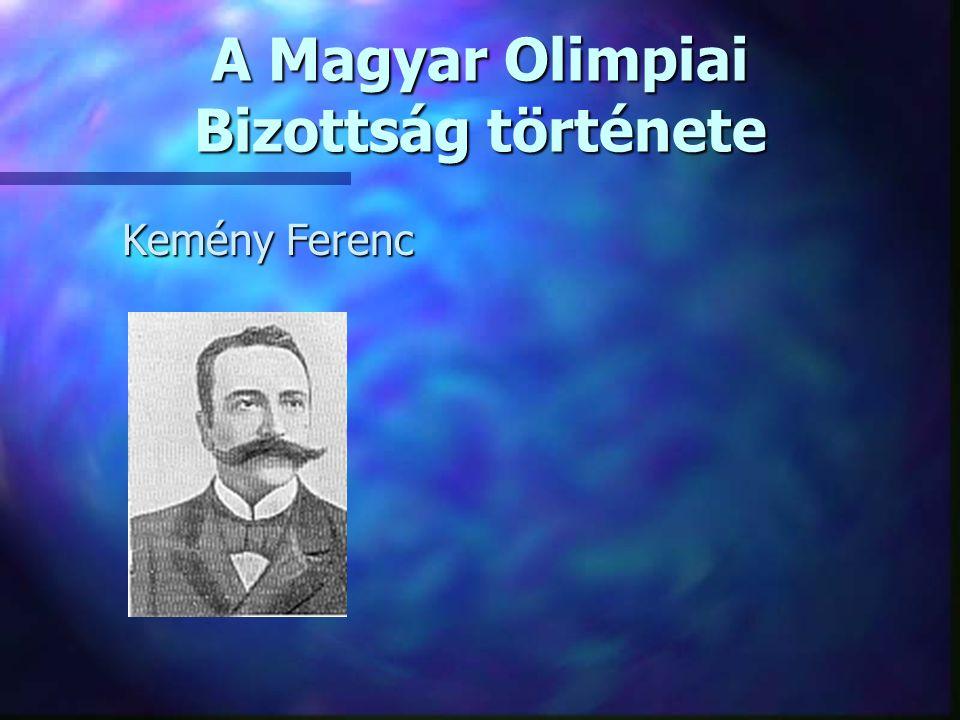 A Magyar Olimpiai Bizottság története