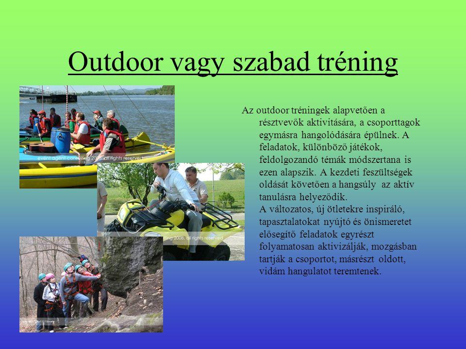 Outdoor vagy szabad tréning