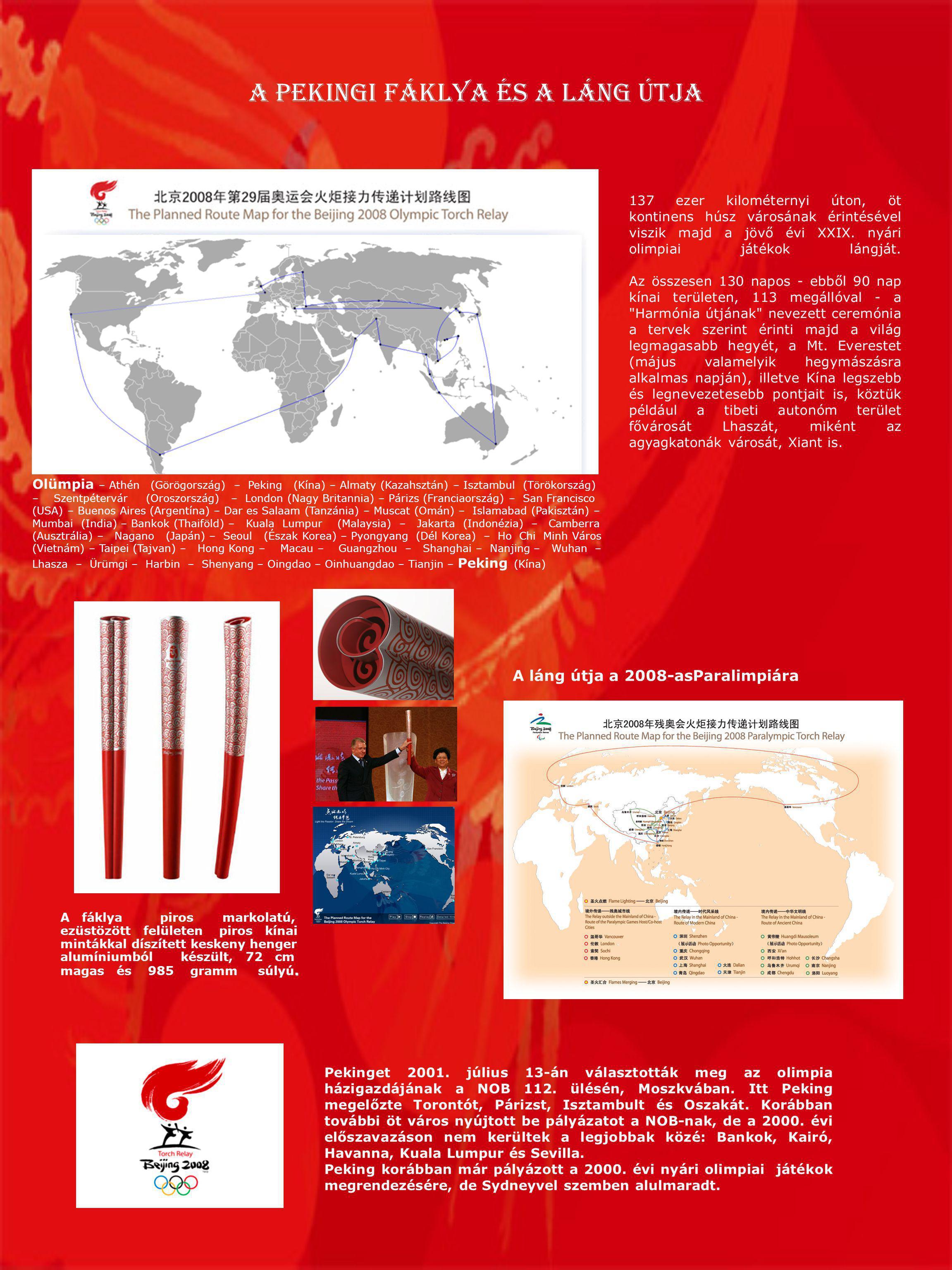 A pekingi fáklya és a Láng Útja