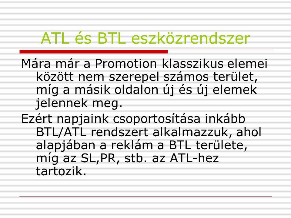 ATL és BTL eszközrendszer