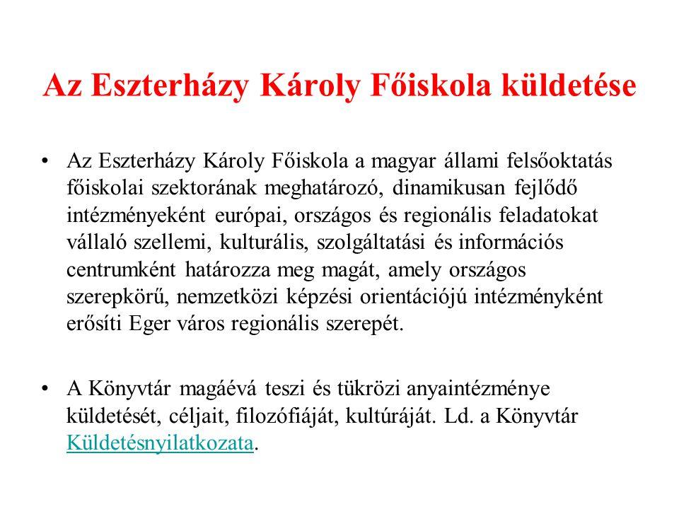 Az Eszterházy Károly Főiskola küldetése