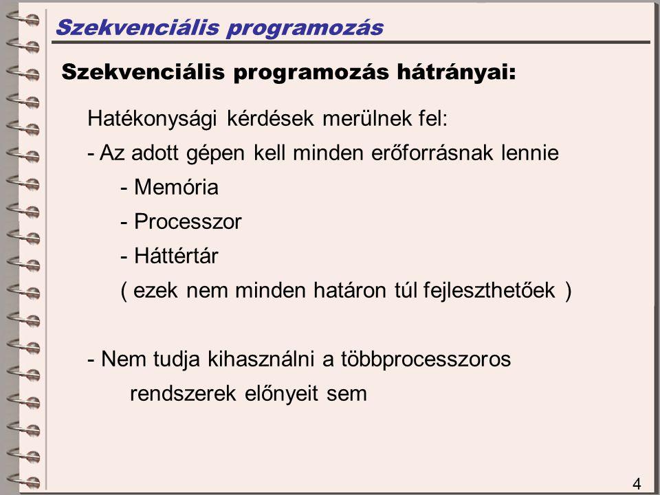 Szekvenciális programozás
