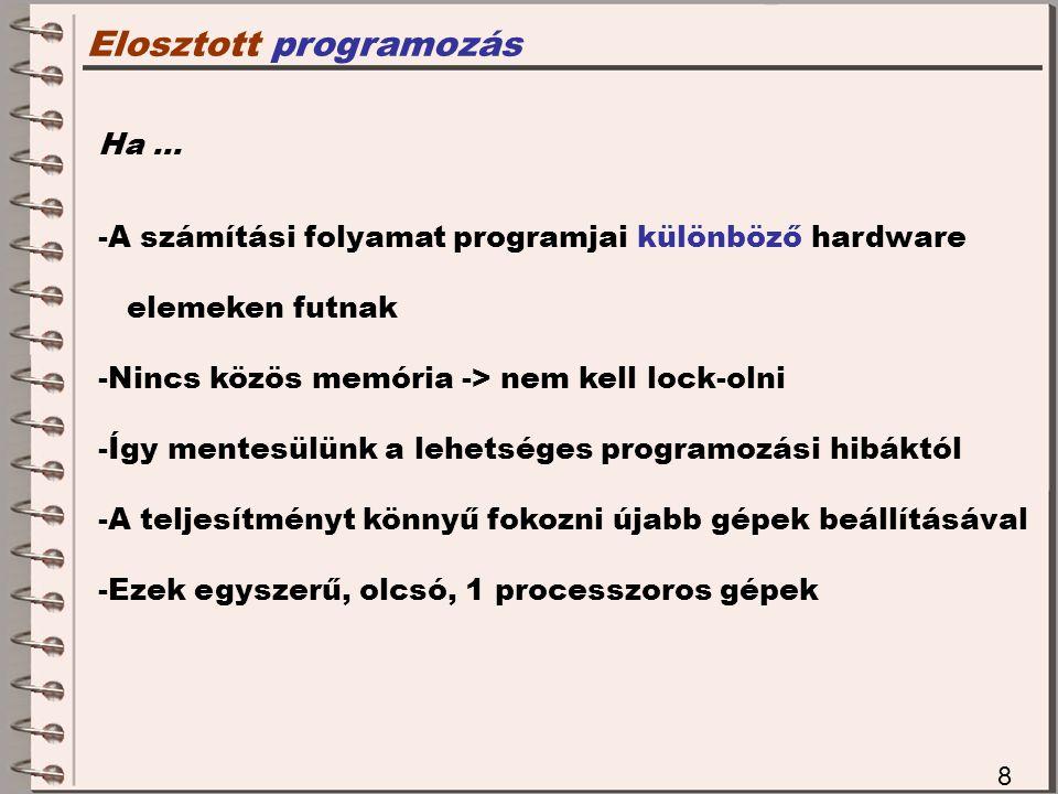 Elosztott programozás