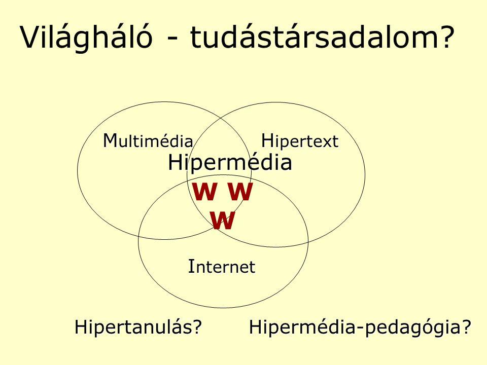Világháló - tudástársadalom