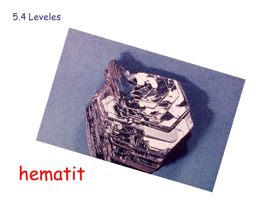 5.4 Leveles hematit
